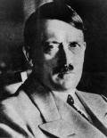 صورة بدون تاريخ للزعيم النازي أدولف هتلر. هذه الصورة تم الحصول عليها من طرف آخر ويتم توزيعها كما تلقتها رويترز كخدمة لعملائها. هذه الصورة للأغراض التحريرية فقط. ليست للبيع ولا يسمح باستخدامها في حملات تسويقية أو إعلانية.
